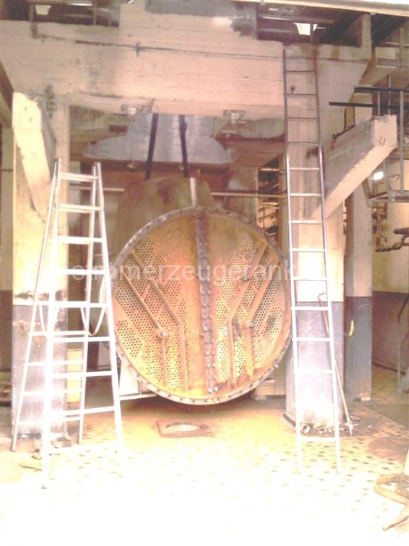 Ausbringen eines Dampfkondensators