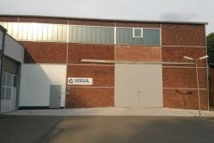 Firmeneingang Haupttor
